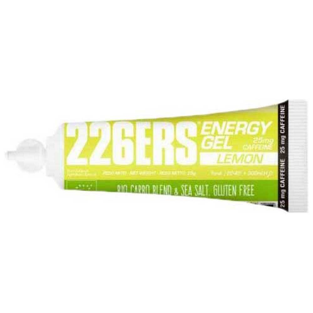 226ers Energy Gel Bio Caffeine 25g 40 Units Lemon