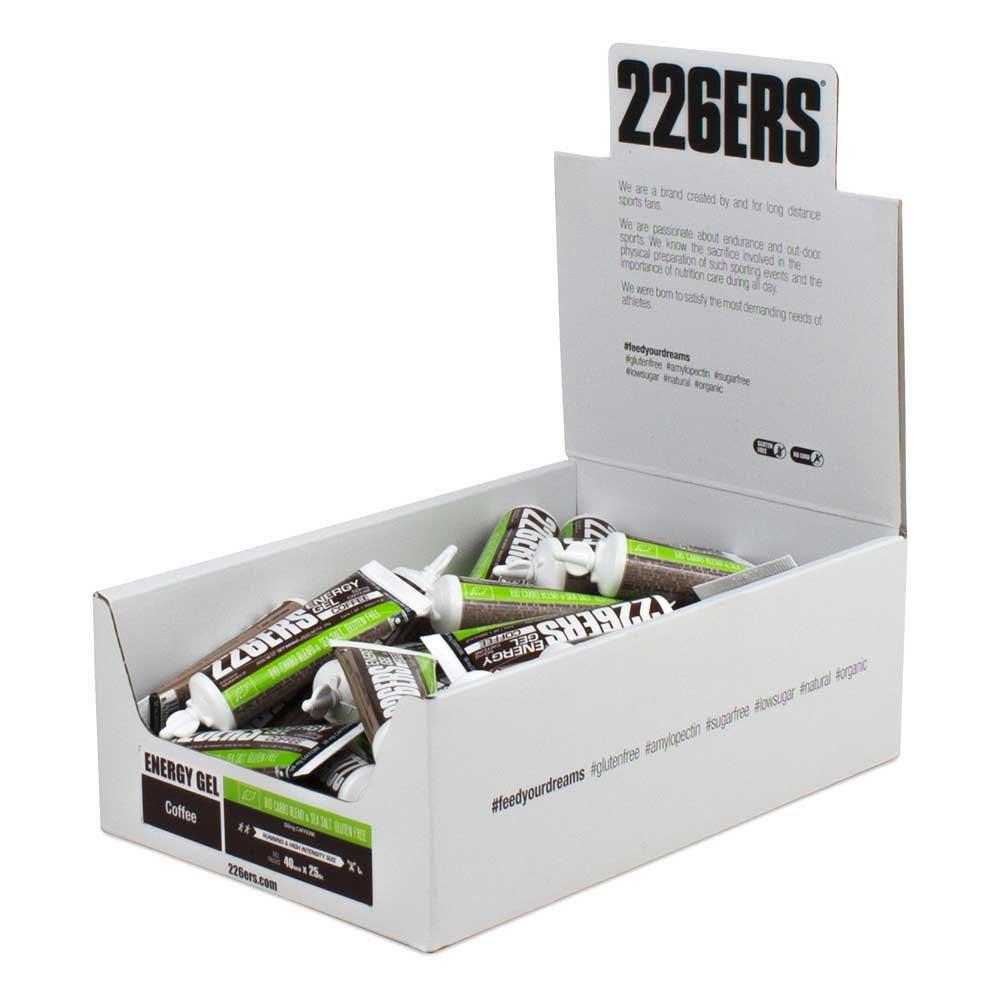 226ers Energy Gel Bio Caffeine 25g 40 Units Black Coffee