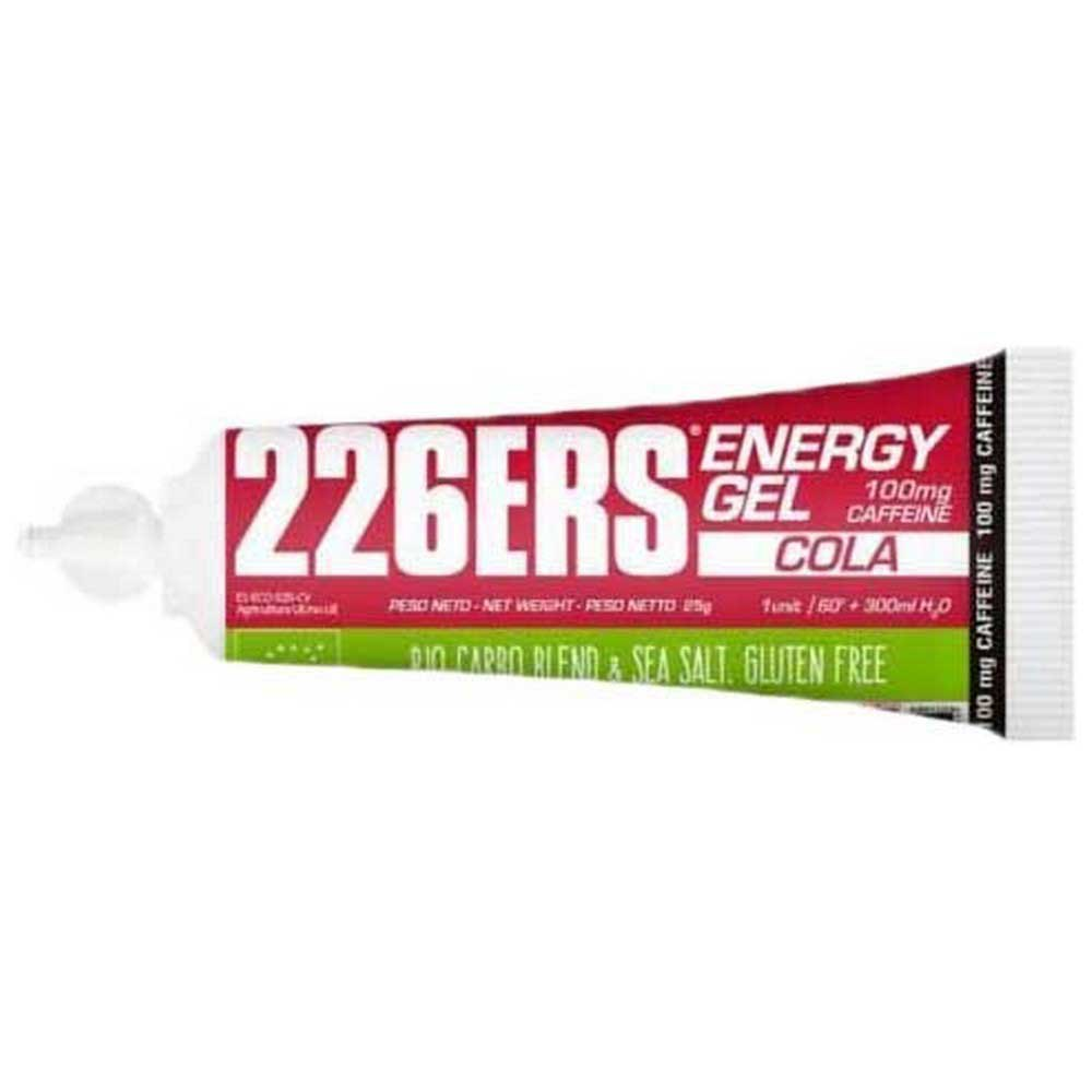 226ers Energy Gel Bio 100mg Caffeine 40 Units Cola