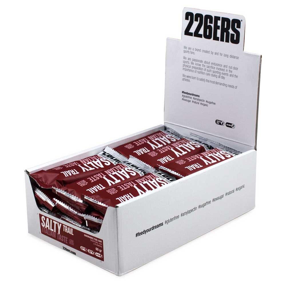226ers Endurance Bar Salty Trail 60g 24 Units Italian Taste