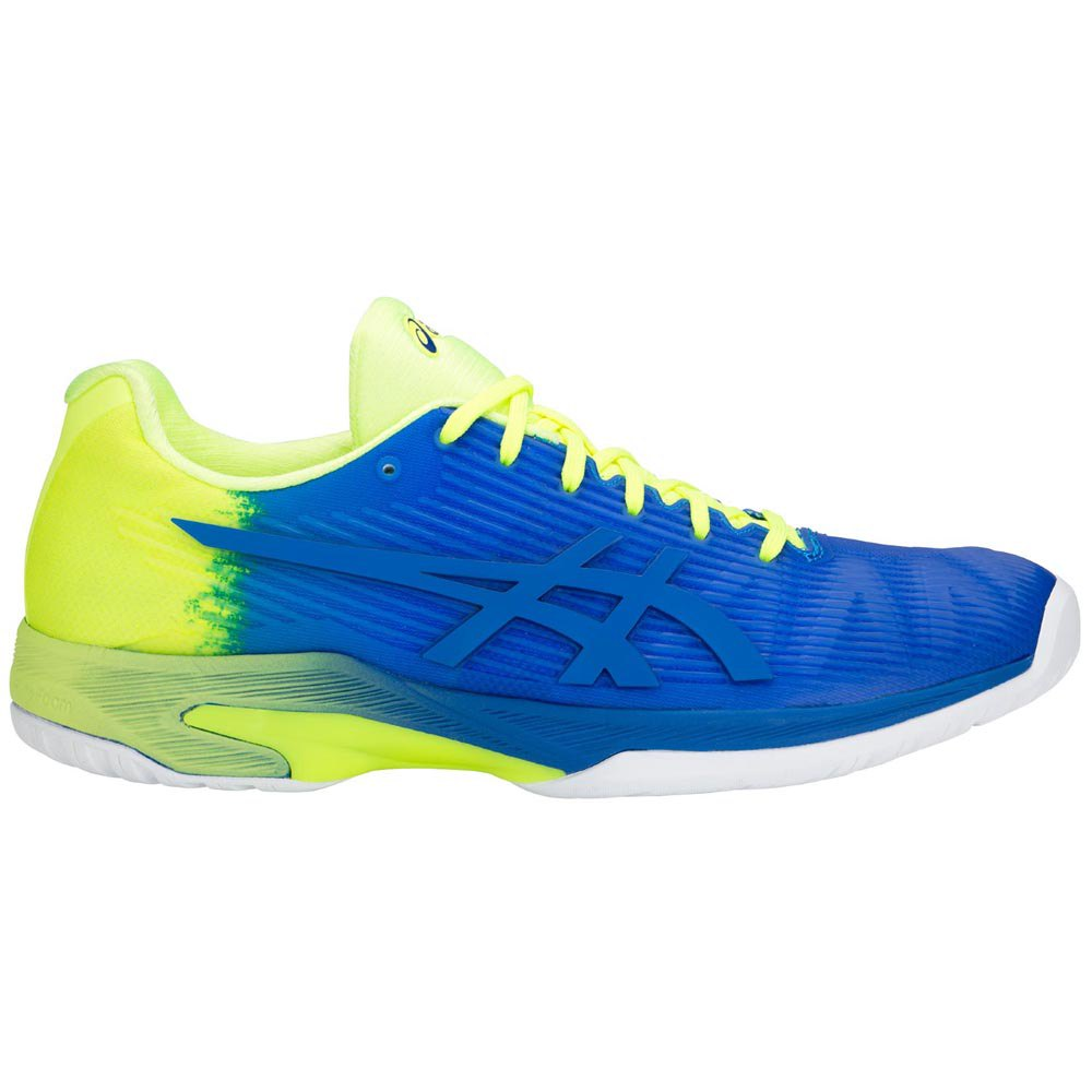 Asics Gel Solution Speed Ff Le EU 50 1/2 Imperial Blue / Flash Yellow