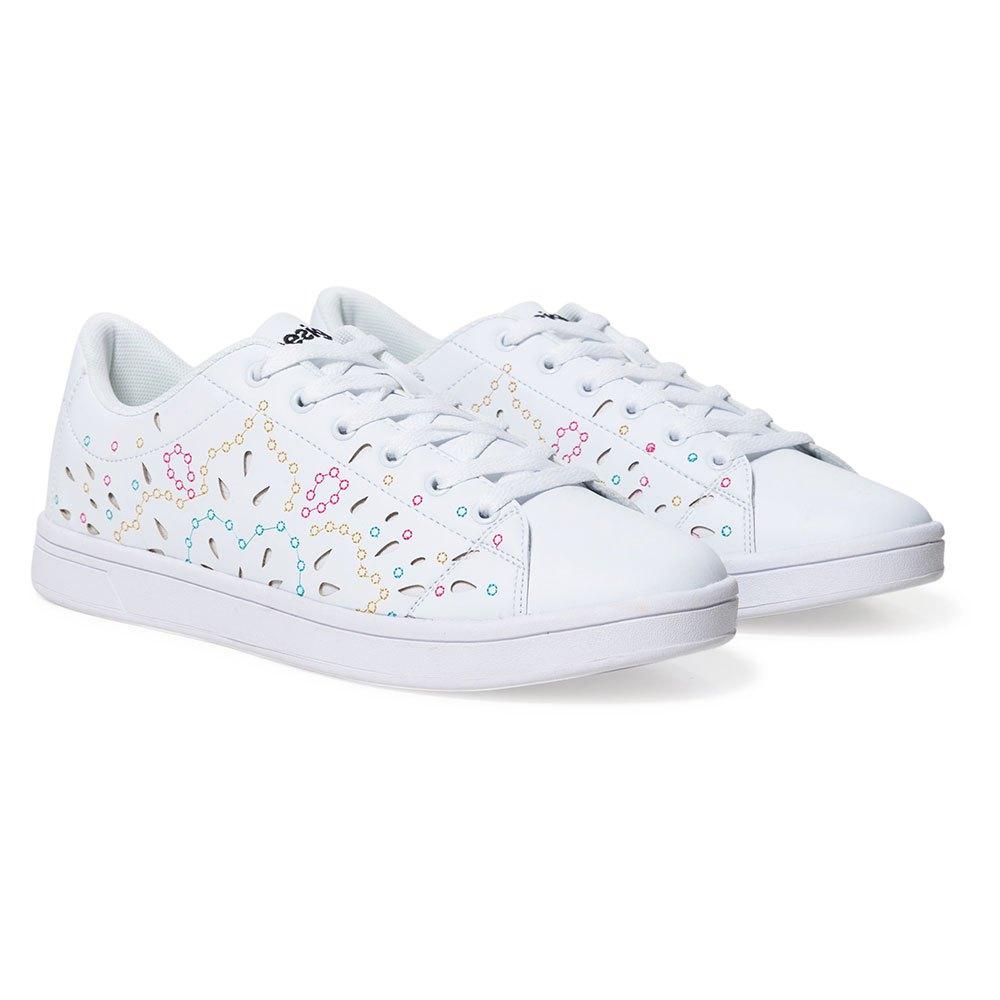 Desigual Canvas Embroiderojo blancoo , Zapatillas Zapatillas Zapatillas Desigual , moda , Calzado Mujer  la mejor selección de