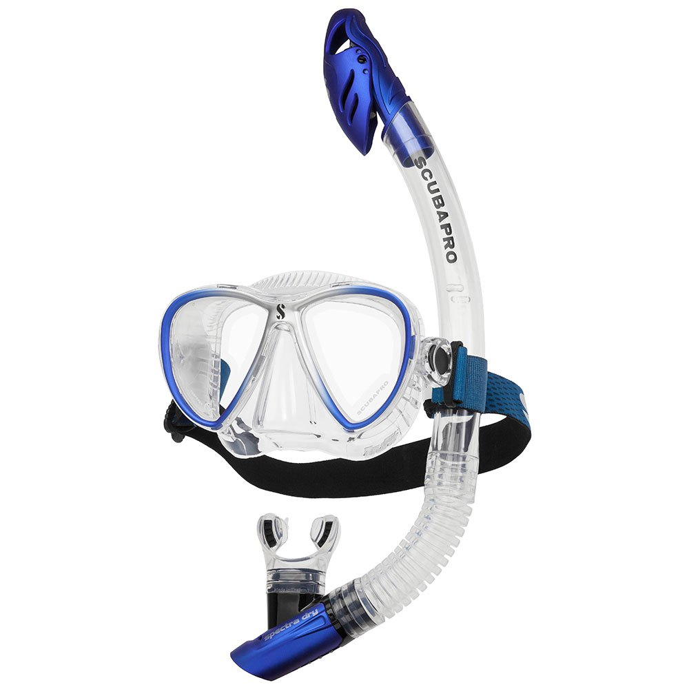Scubapro Synergy Twin Combo Blue Silver Sets Synergy Twin Combo