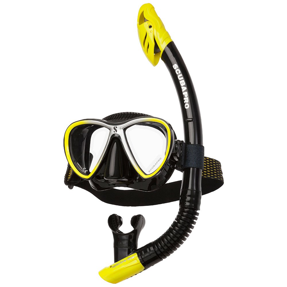 Scubapro Synergy Twin Combo Yellow Black Sets Synergy Twin Combo