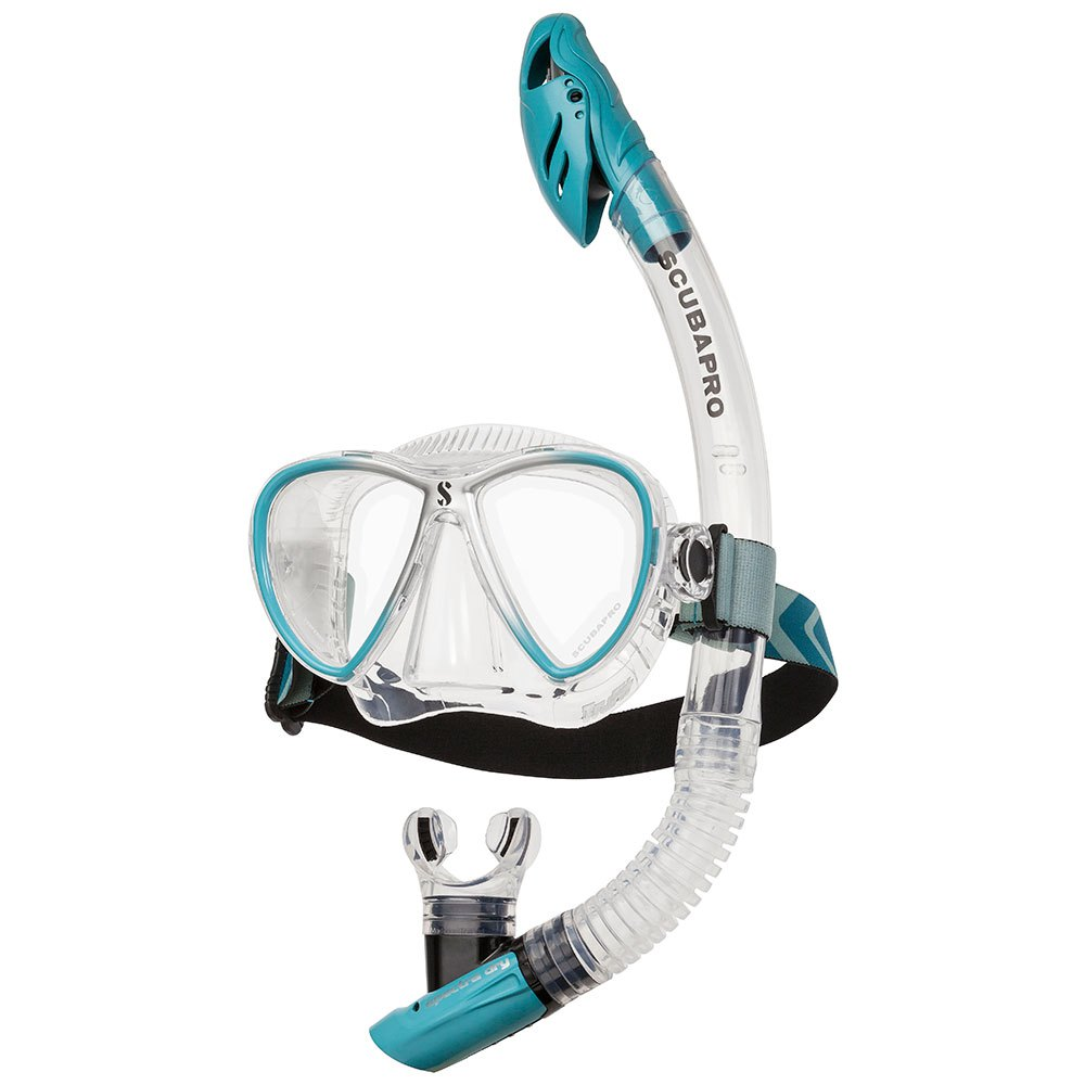 Scubapro Synergy Twin Combo Turquoise Silver Sets Synergy Twin Combo