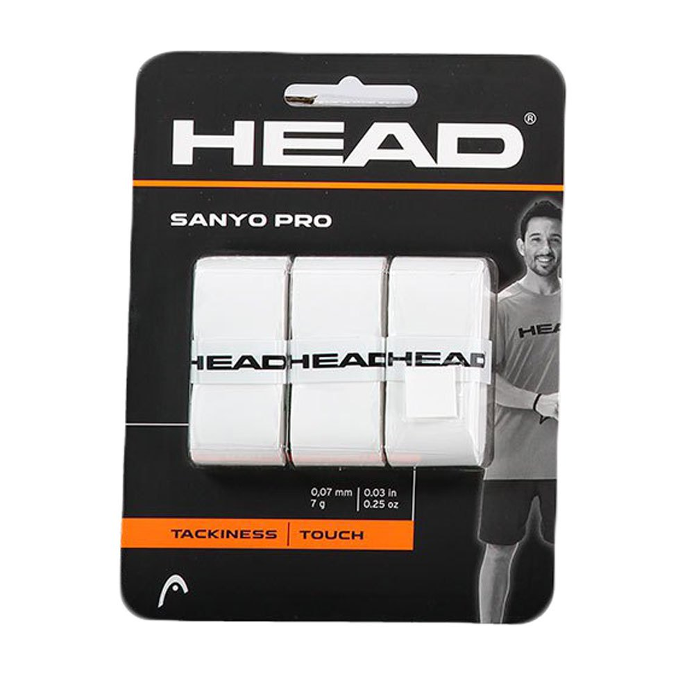 Head Racket Sanyo Pro 3 Units One Size White