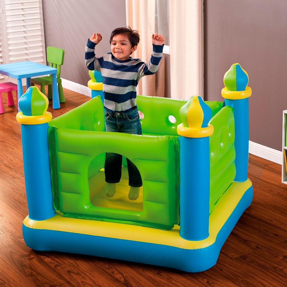 Intex Jump-o-lene Castle Bouncer Mehrfarben  Wasserspiele Intex    schwimmen 2803a5