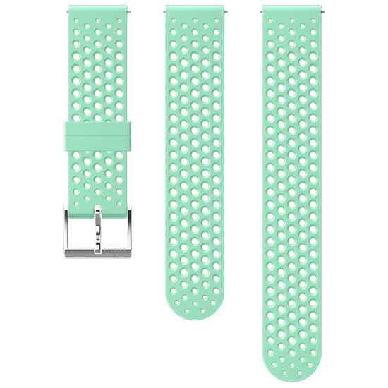 Suunto Athletic 1 Silicone 20 Mm S+m Strap One Size Ocean / Steel