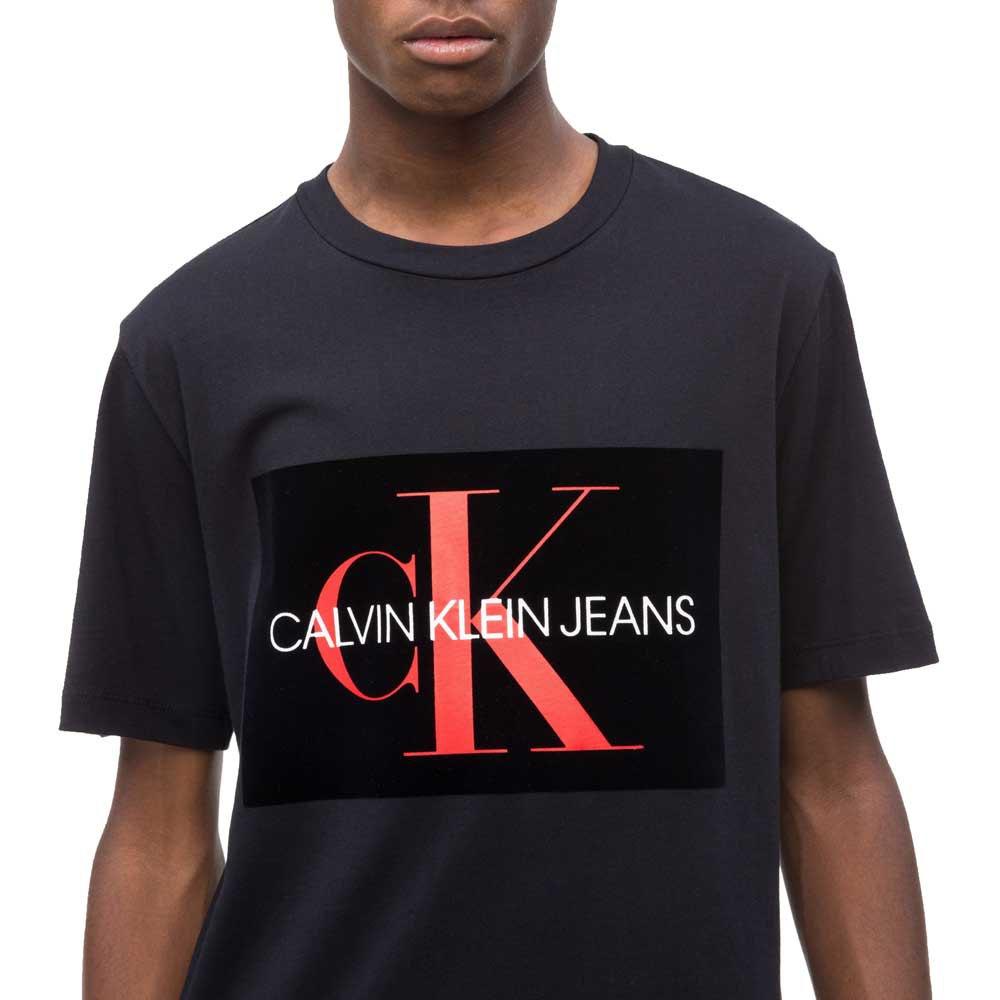 Calvin-Klein-J30j310405-Negro-Camisetas-Calvin-klein-moda- e4cf3b6b761