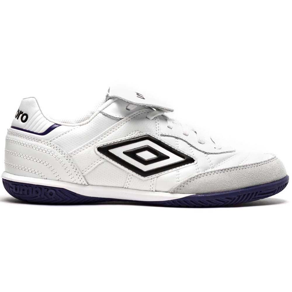 Umbro Chaussures Football Salle Speciali Eternal Team Ic EU 40 White / Black / Spectrum Blue