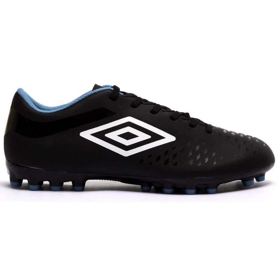 Umbro Chaussures Football Velocita Iv League Ag EU 42 1/2 Black / White / Caribbean Sea