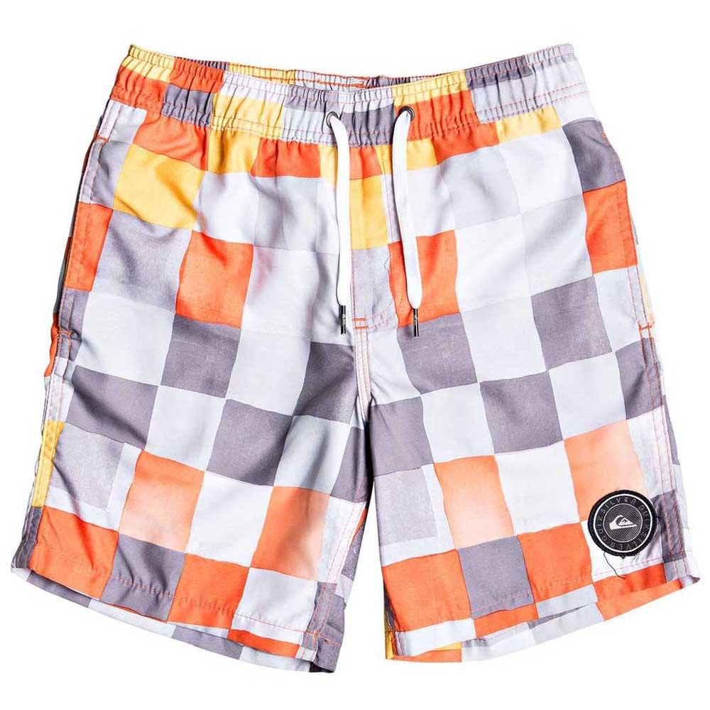 Quiksilver Resin Check Volley 15 M Tiger Orange