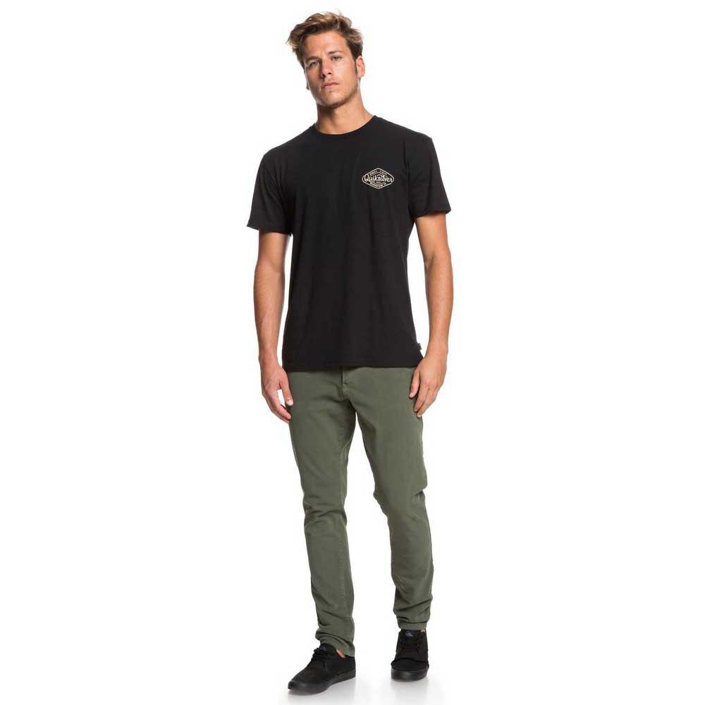 Quiksilver-Krandy-Slim-Vert-T54355-Pantalons-Homme-Vert-Pantalons-Quiksilver miniature 12