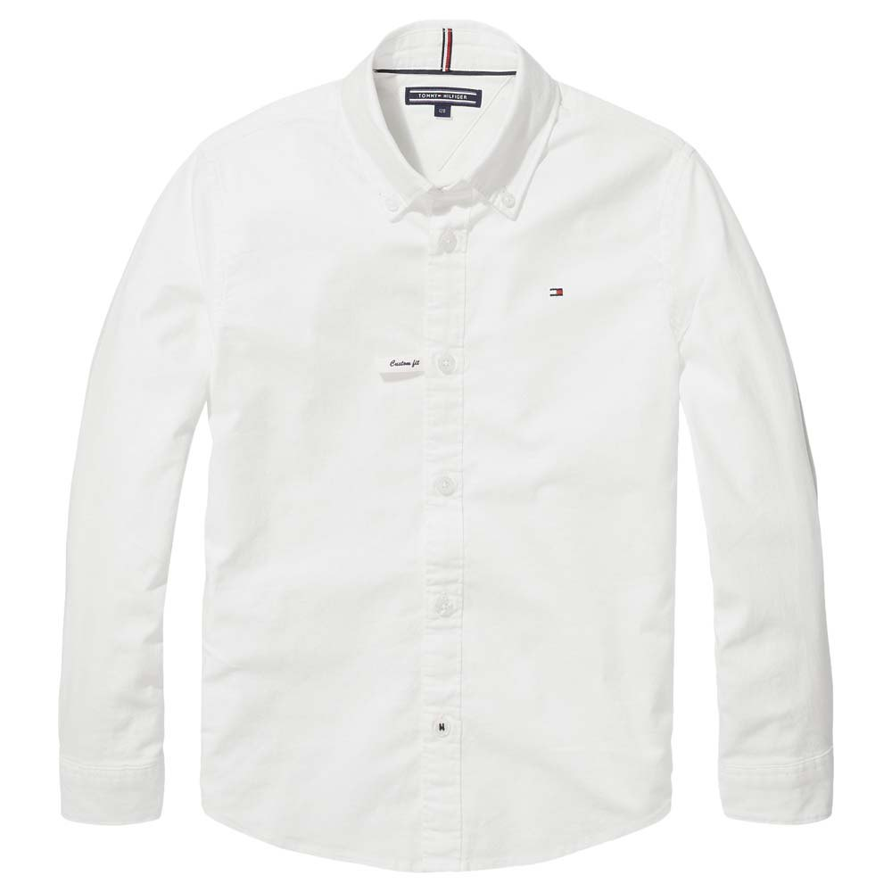 Tommy Hilfiger Kids Oxford 16 Years Bright White