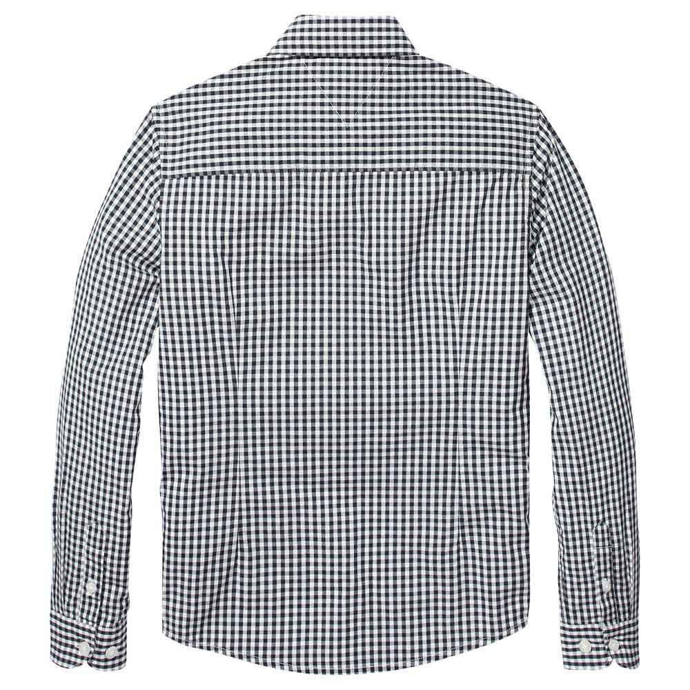 el más nuevo 5db5f 210ba Detalles de Tommy Hilfiger Gingham Azul T54900/ Camisas Azul , Camisas  Tommy hilfiger
