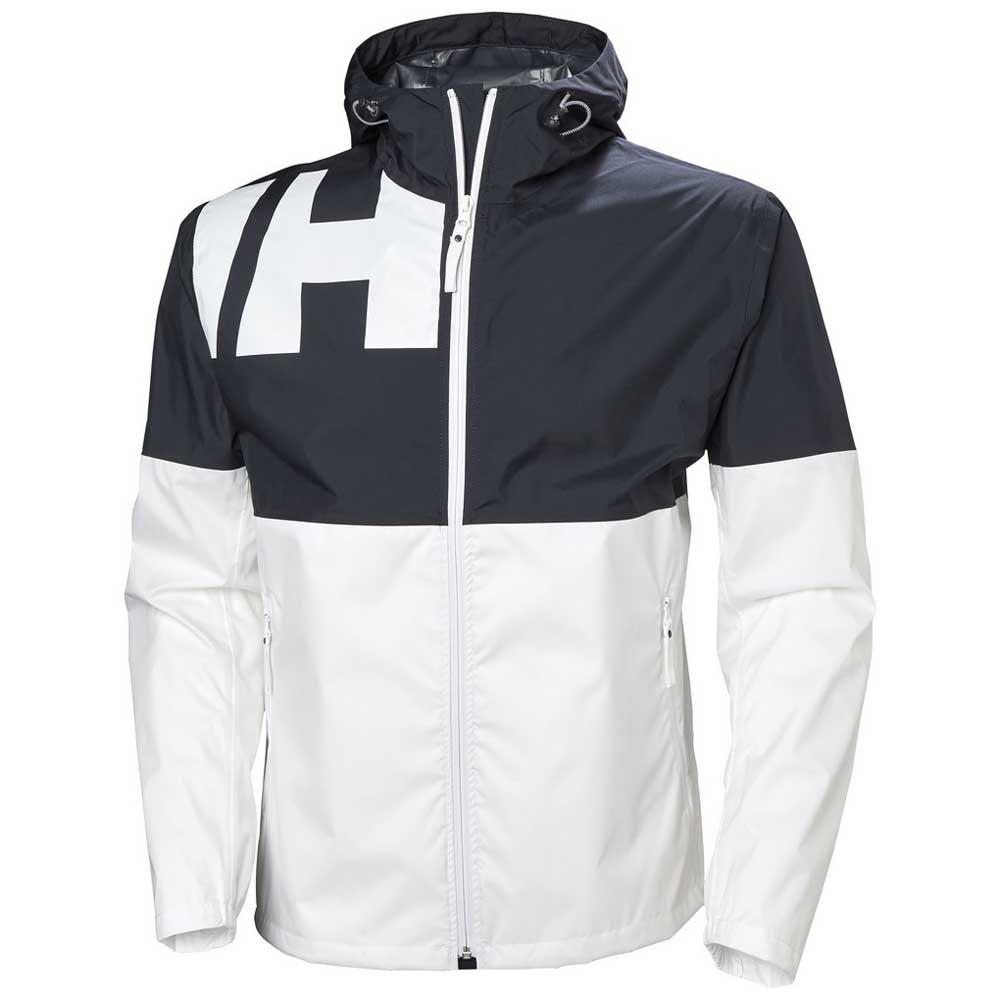 Details zu Helly Hansen Pursuit Weiß Blau T46288 Jacken Mann Weiß Blau , Jacken , mode