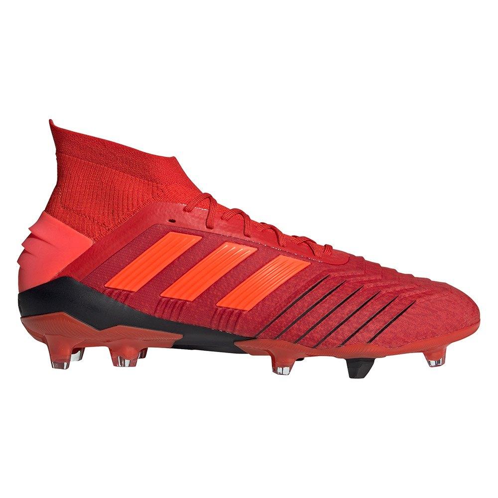 Adidas 19 Predator adidas Calcio 1 Fg Rosso r5r4x