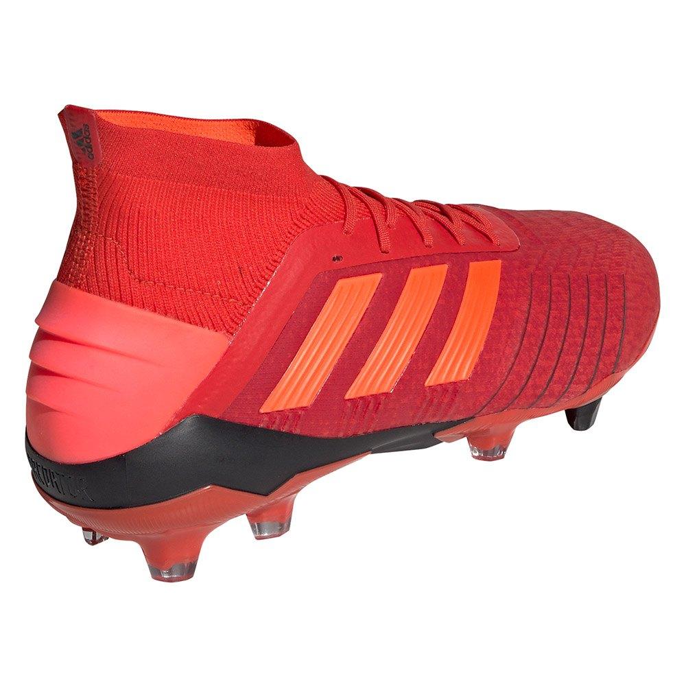 super popular 07911 cf15c Adidas-Predator-19-1-Fg-Rosso-Calcio-adidas-