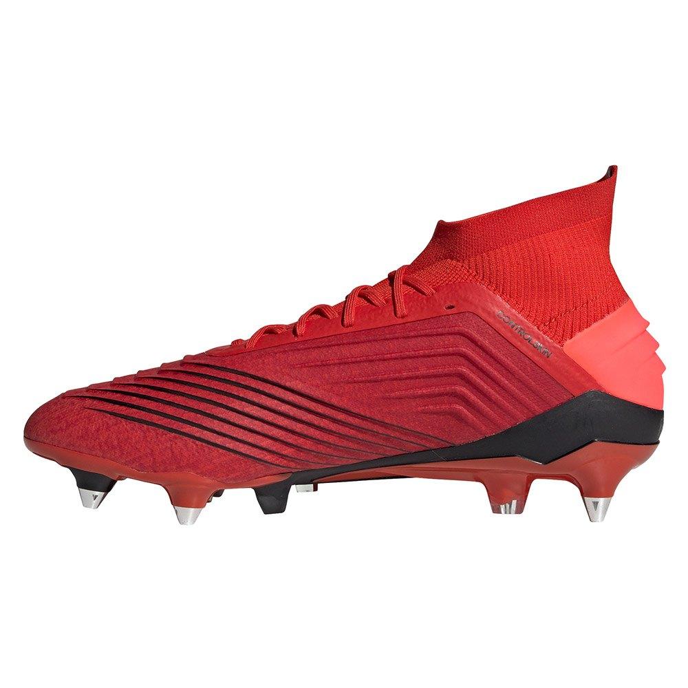 hot sale online a96fd 4fb52 Adidas-Predator-19-1-Sg-Rosso-Calcio-adidas-