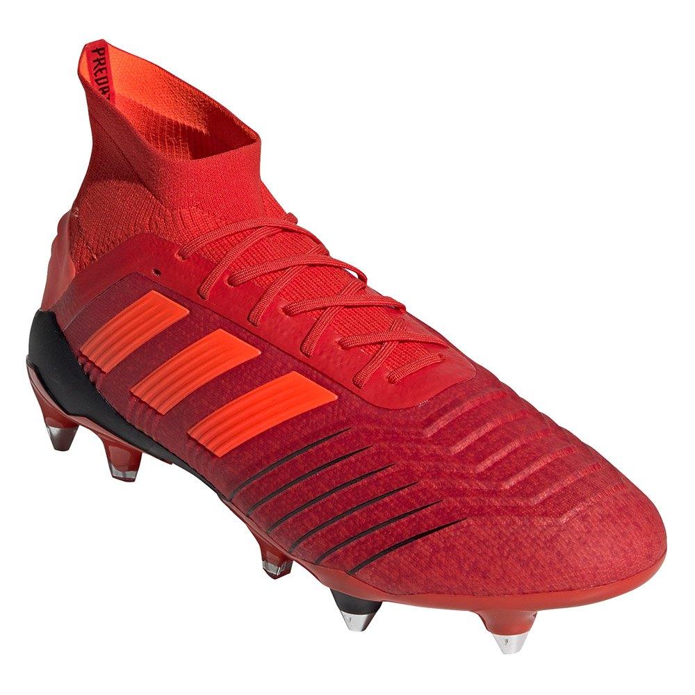 hot sale online b5bec 1e55d Adidas-Predator-19-1-Sg-Rosso-Calcio-adidas-