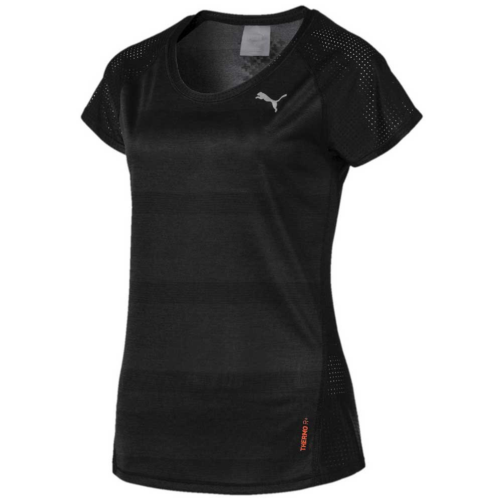 Puma T-shirt Manche Courte Thermo R+ XS Puma Black Heather