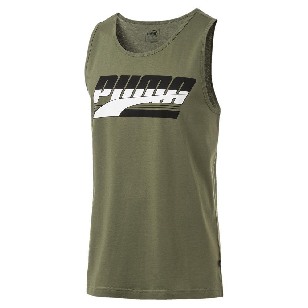 Detalles de Puma Rebel Verde T34847 Camisetas Verde , Camisetas Puma , moda , Ropa hombre