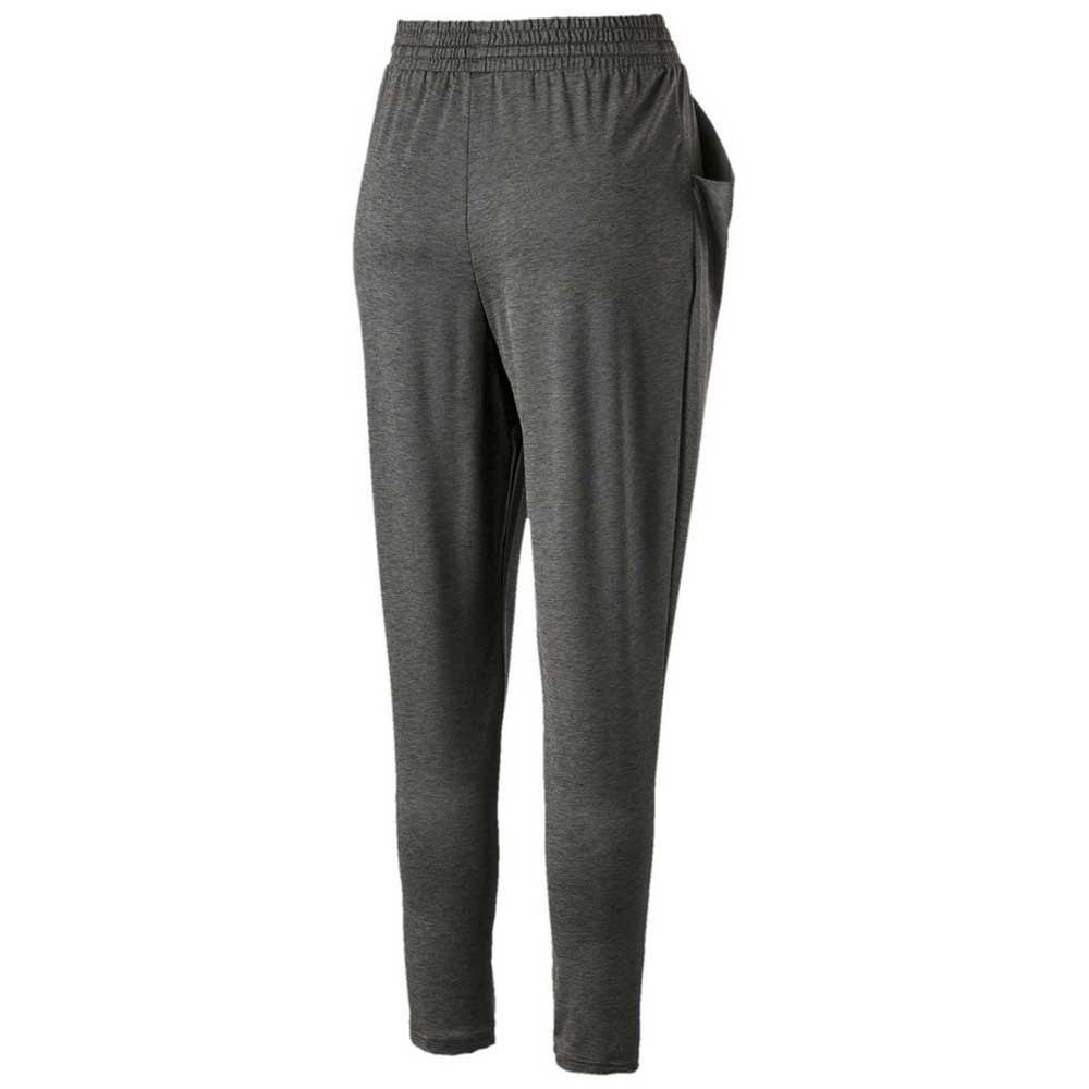 Puma Soft Sports Drapey Pantalones Ropa Mujer Gris Ebay