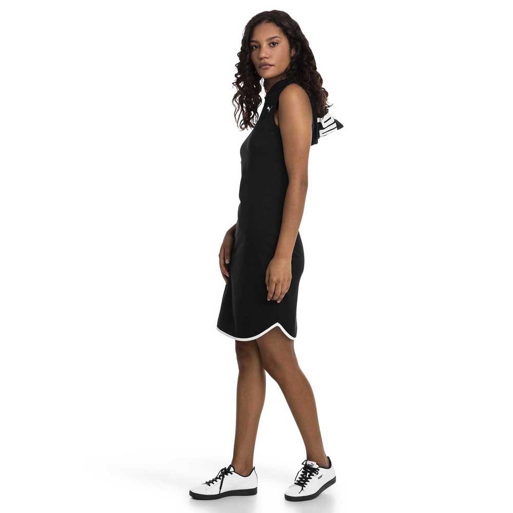 new product e4c36 1bae0 Dettagli su Puma Summer Nero T01393/ Vestiti Donna Nero , Vestiti Puma ,  moda