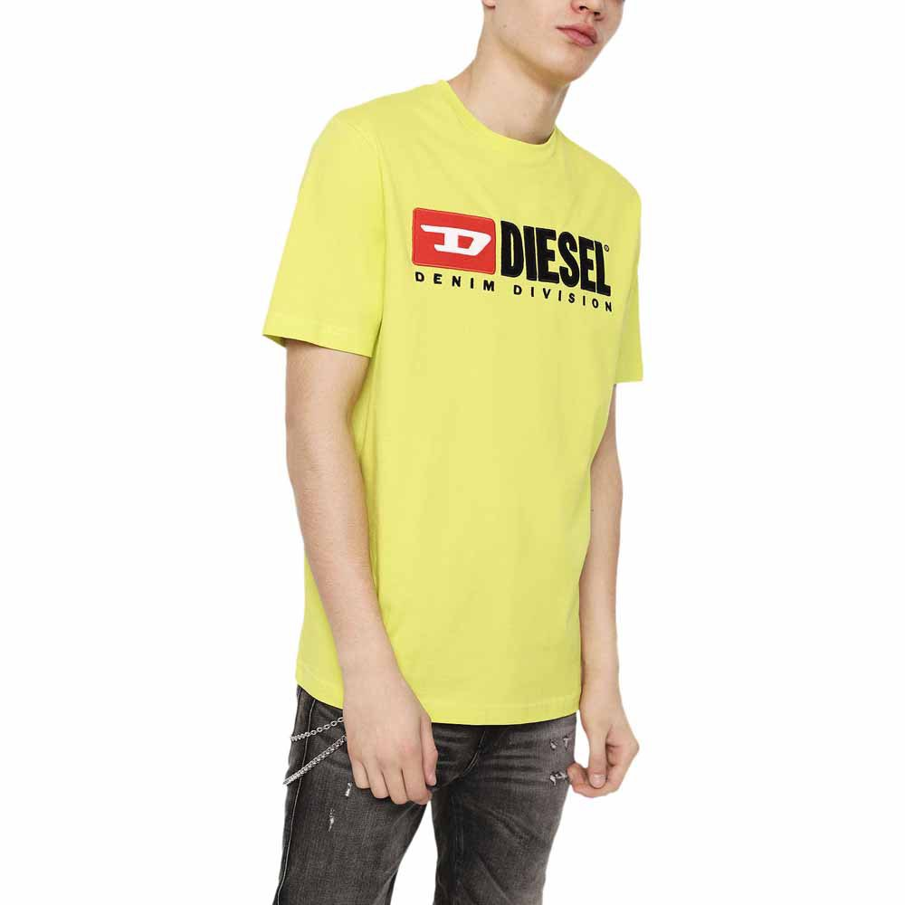 Diesel Just Division Giallo , Magliette Diesel moda , moda Diesel , Abbigliamento Uomo 8c2504