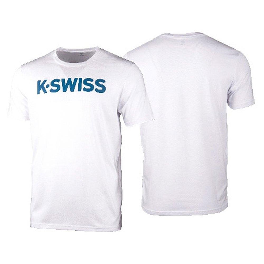 K-swiss Logo L White / Burnner Blue