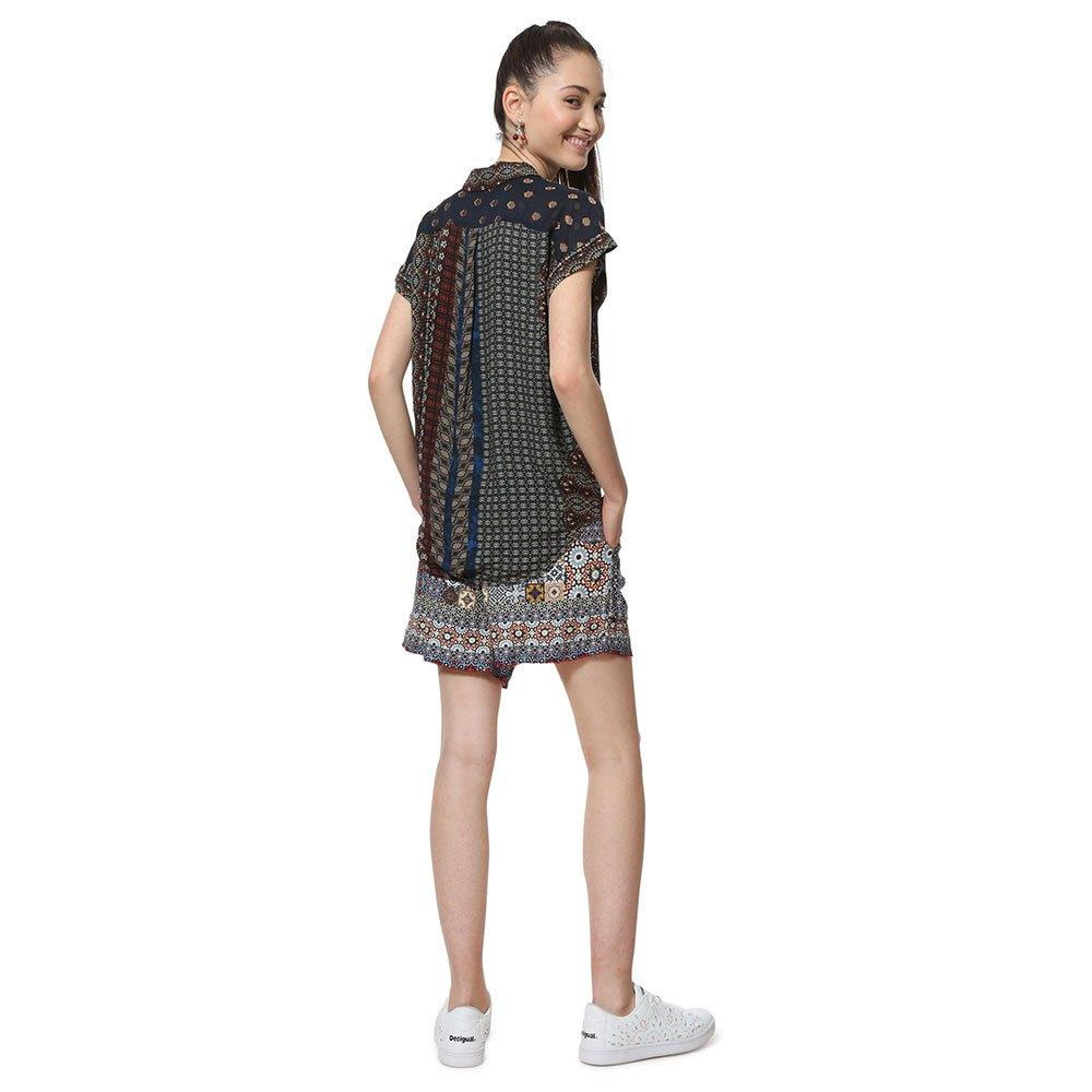 31f5d7aab Desigual-Azhar-Marron-Blusas-y-camisas-Desigual-moda-