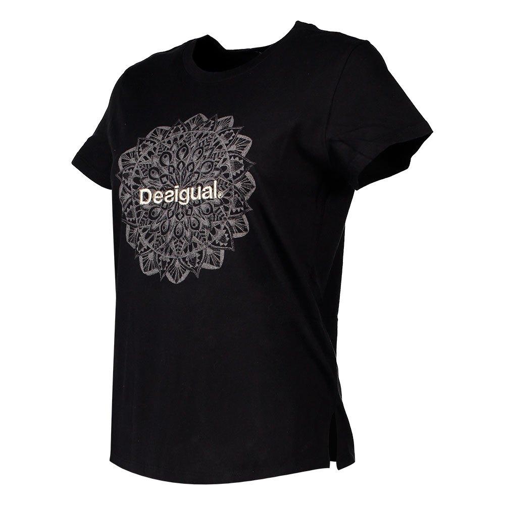 Desigual Manchester Nero Nero Nero , Magliette Desigual , moda , Abbigliamento donna 5ef032