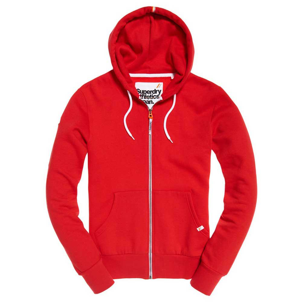 Superdry La Athletic Rot , Pullover Superdry , mode , Herrenkleidung