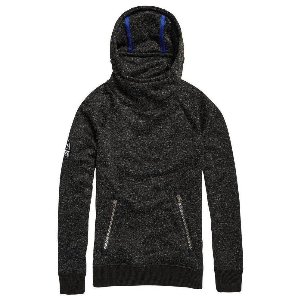 Superdry Storm Slouch Schwarz , Pullover Superdry , mode , Herrenkleidung
