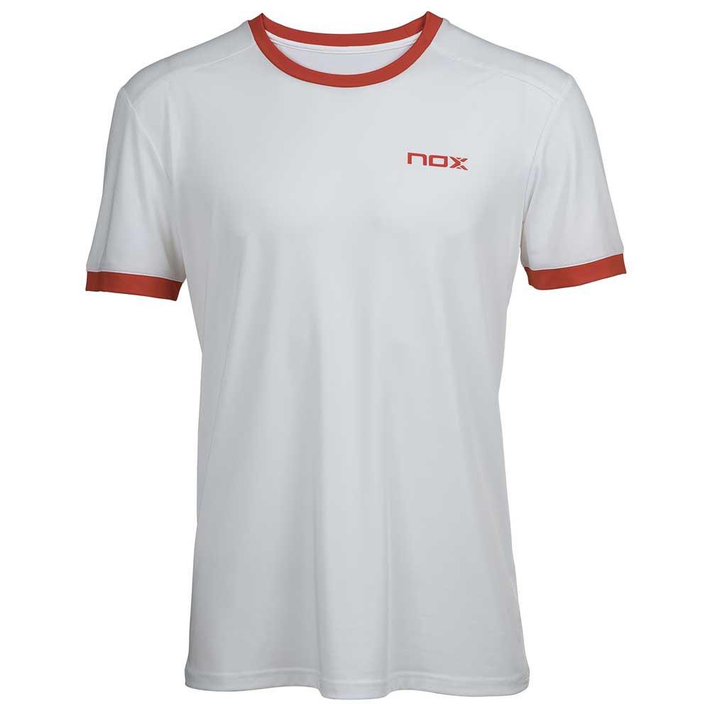Nox T-shirt Manche Courte Team Logo XL Whtie / Red