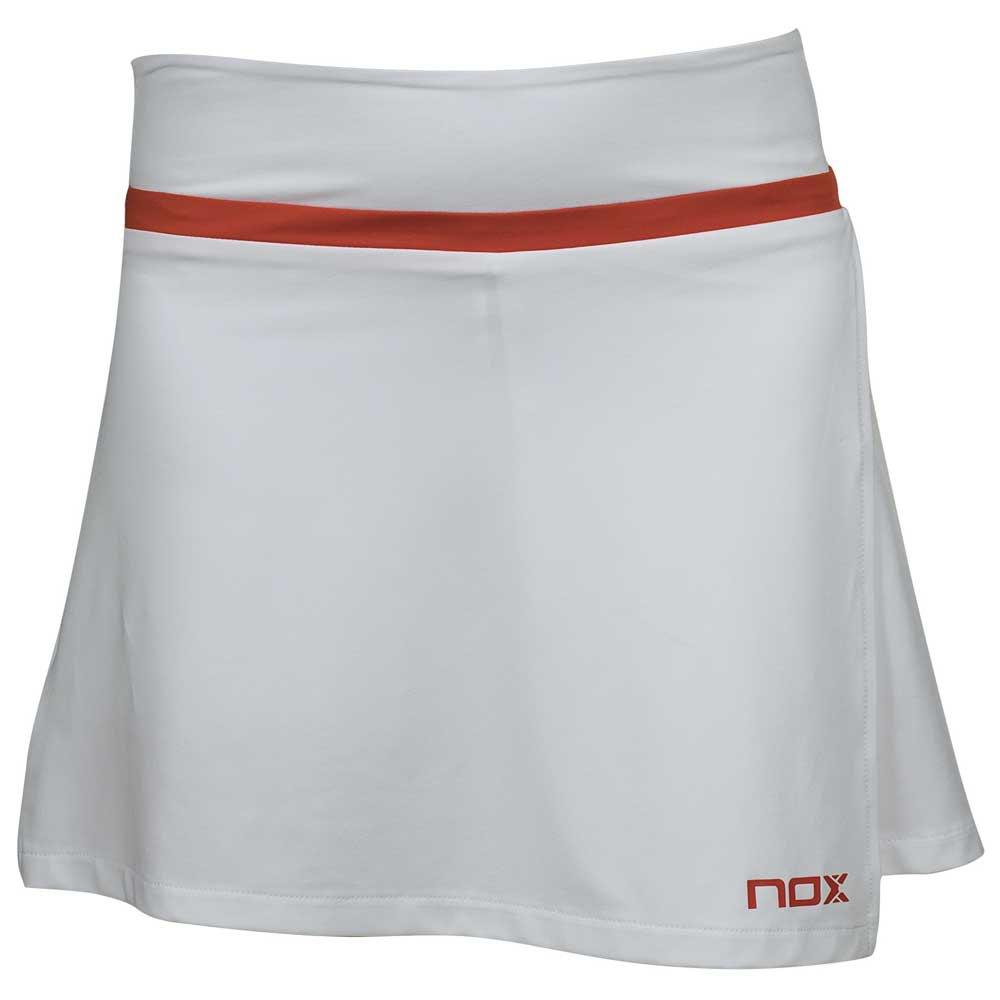 Nox Team Logo Jupe XL White / Red