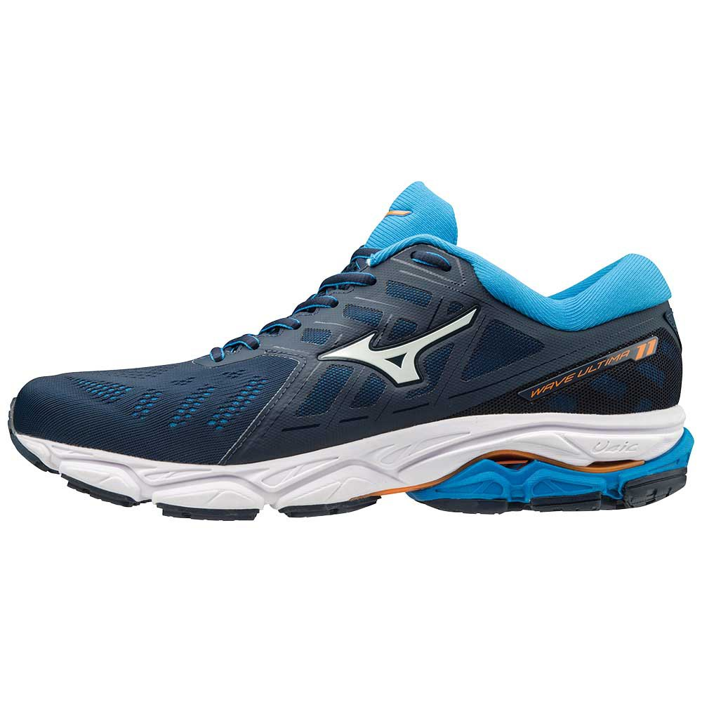 9811a760fe Corsa 11 Mizuno Ultima Wave Running Scarpe Blu 7Tn78Y1wq