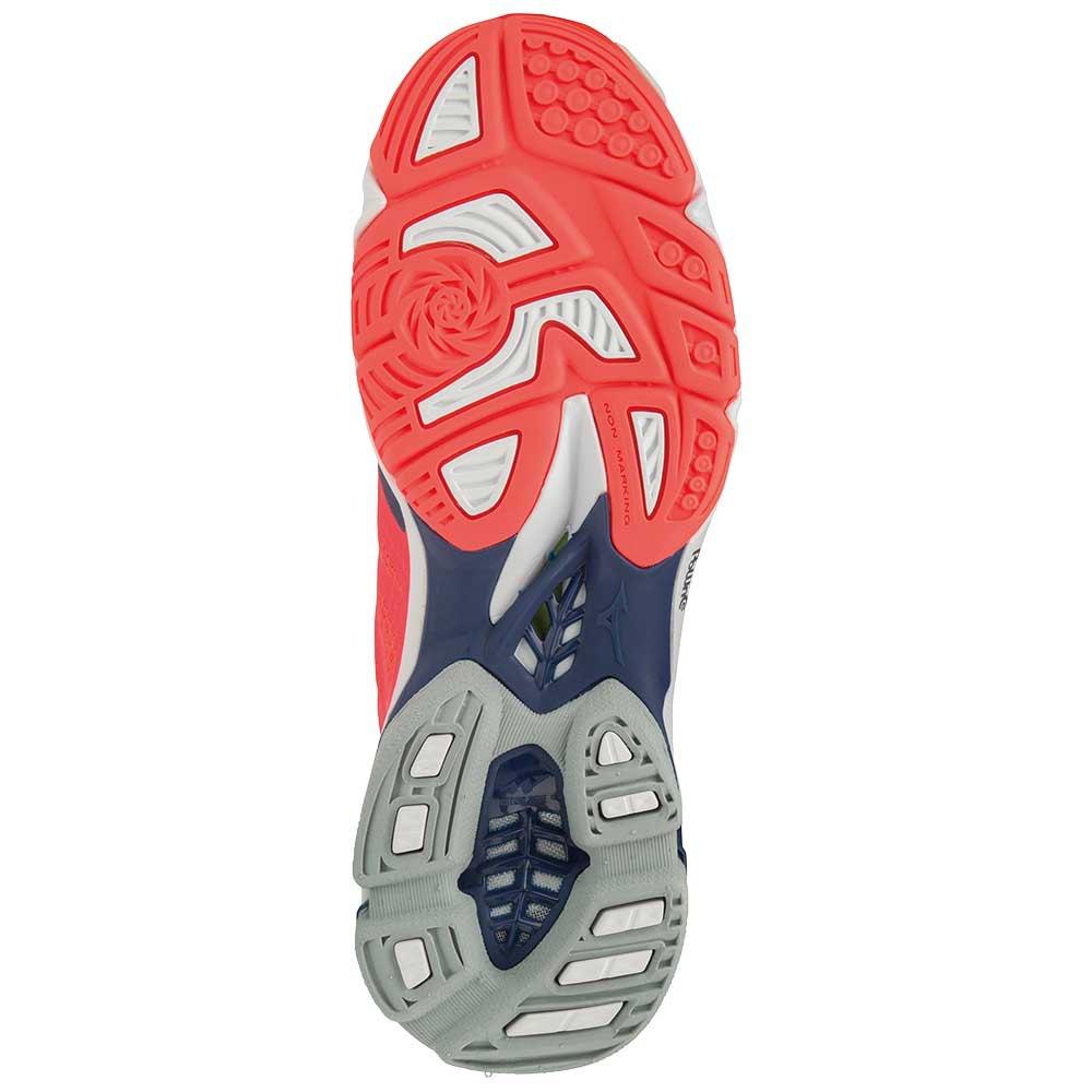 Mizuno-Wave-Lightning-Z5-Rosso-T87251-Scarpe-sportive-Unisex-Rosso-Mizuno miniatura 5