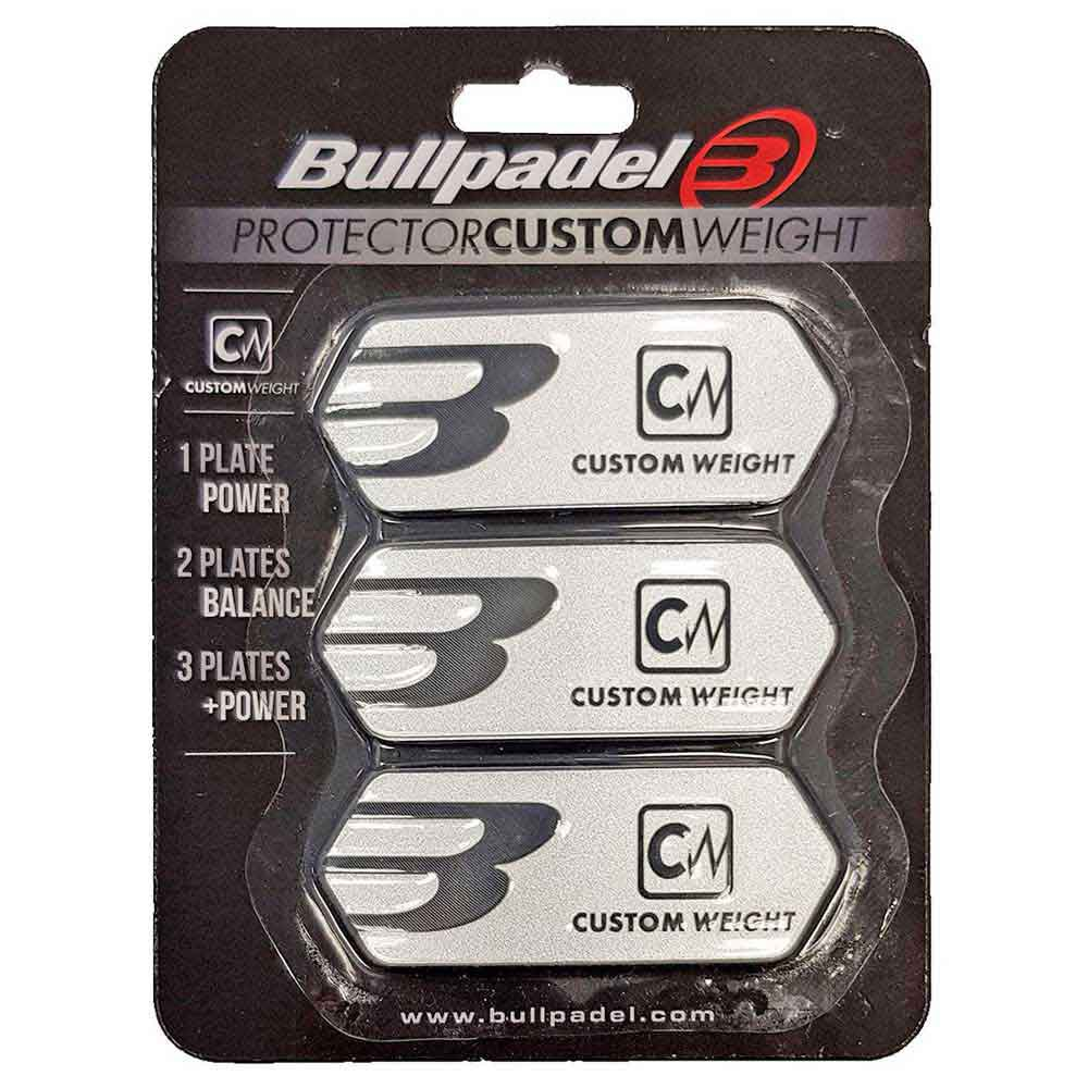 Bullpadel Custom Weight Protector One Size Silver