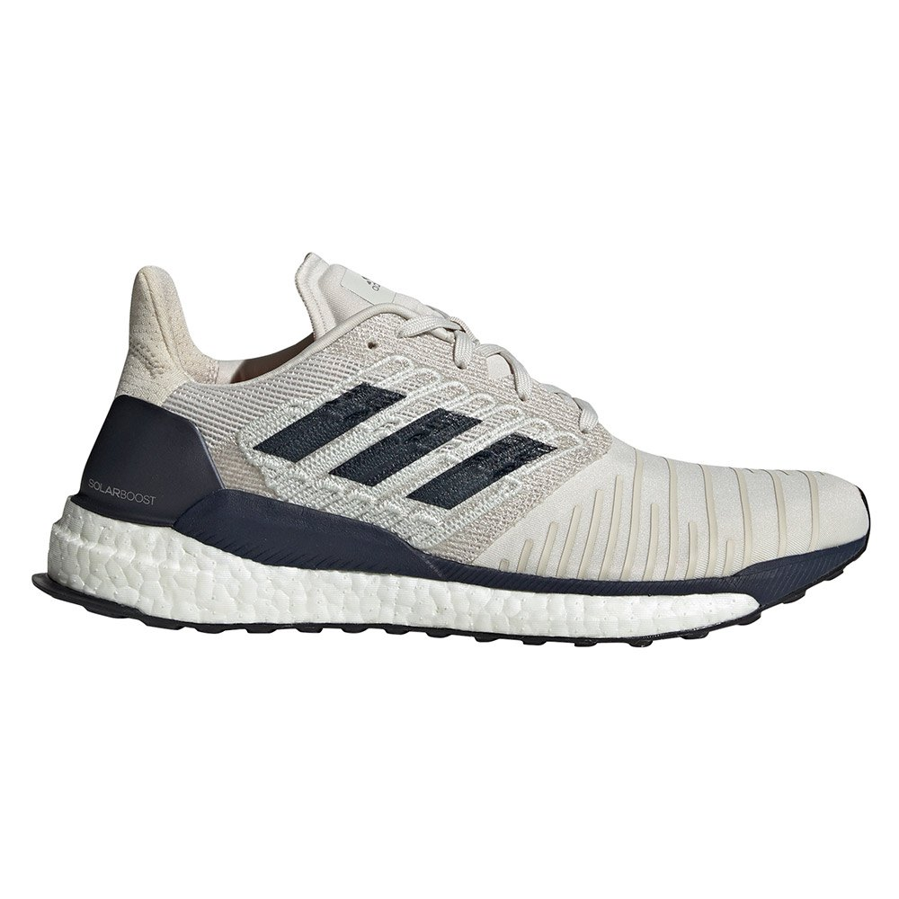 Adidas Solar Boost EU 44 2/3 Raw White / Legend Ink / True Orange