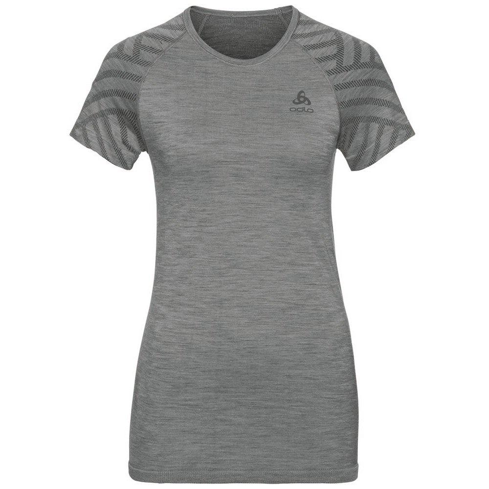 Odlo T-shirt Manche Courte Kinship Seamless XS Grey Melange