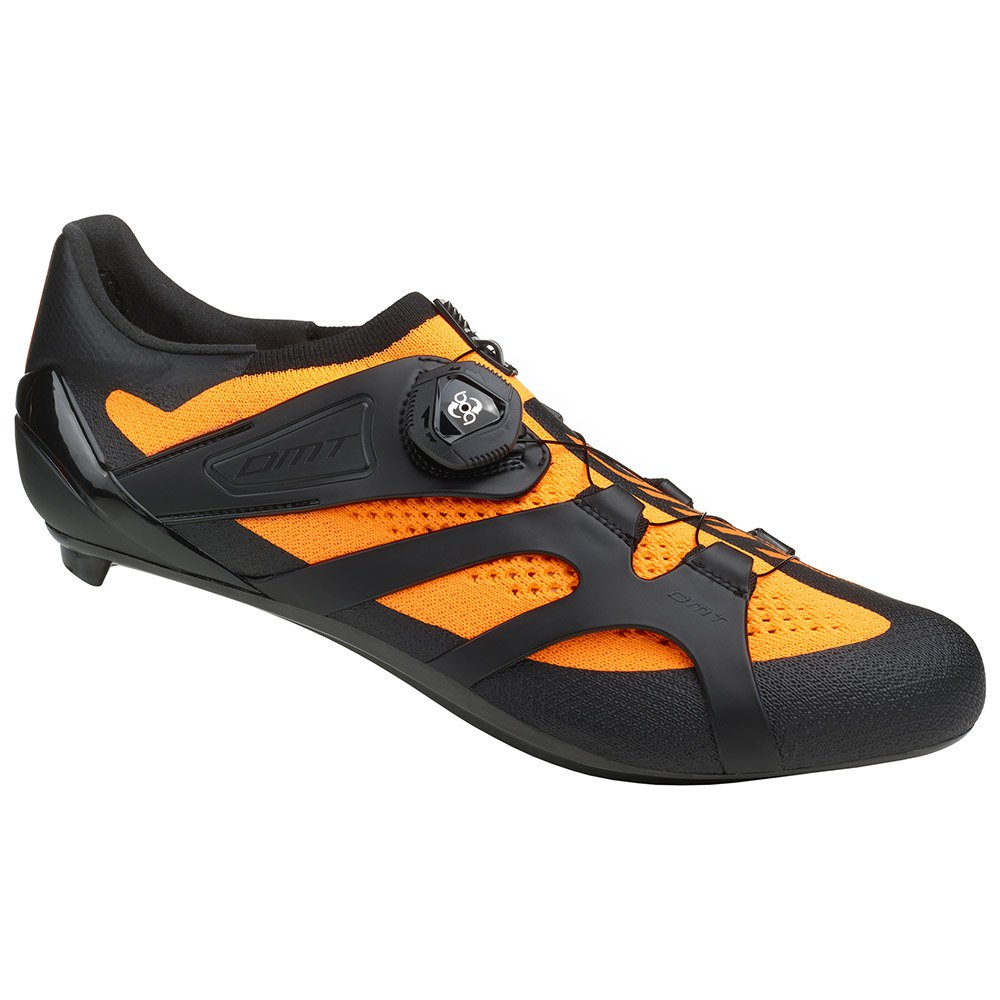 Dmt Kr2 Road Shoes EU 39 Black / Orange Fluo