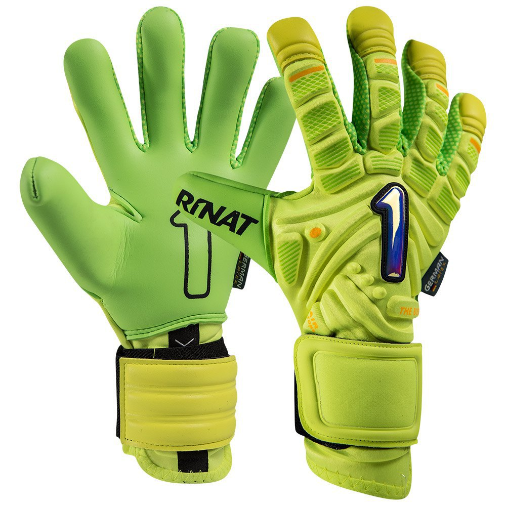 Rinat The Boss Pro Goalkeeper Gloves 7 Lime / Green