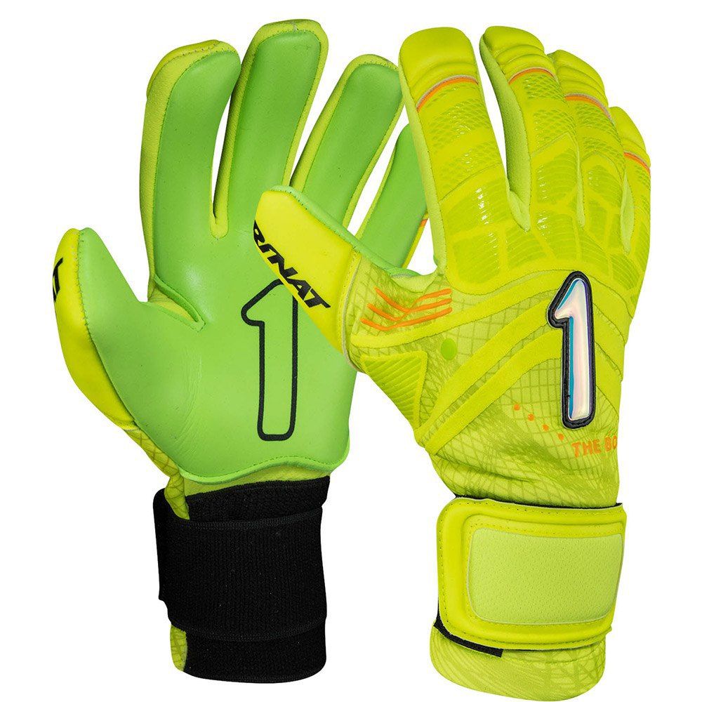 Rinat The Boss Alpha Goalkeeper Gloves 4 Lime / Green