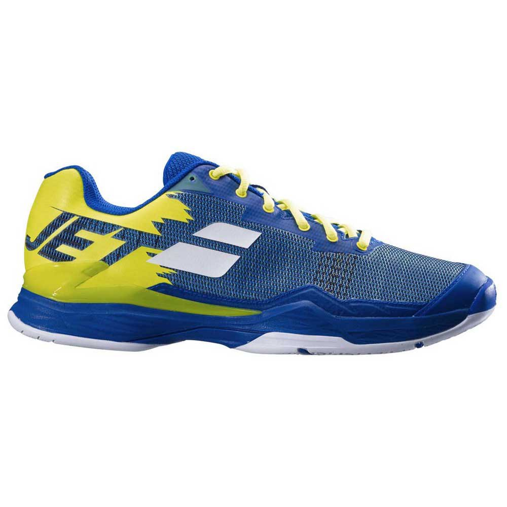 Babolat Chaussures Tous Les Courts Jet Mach I EU 40 1/2 Blue / Fluo Aero