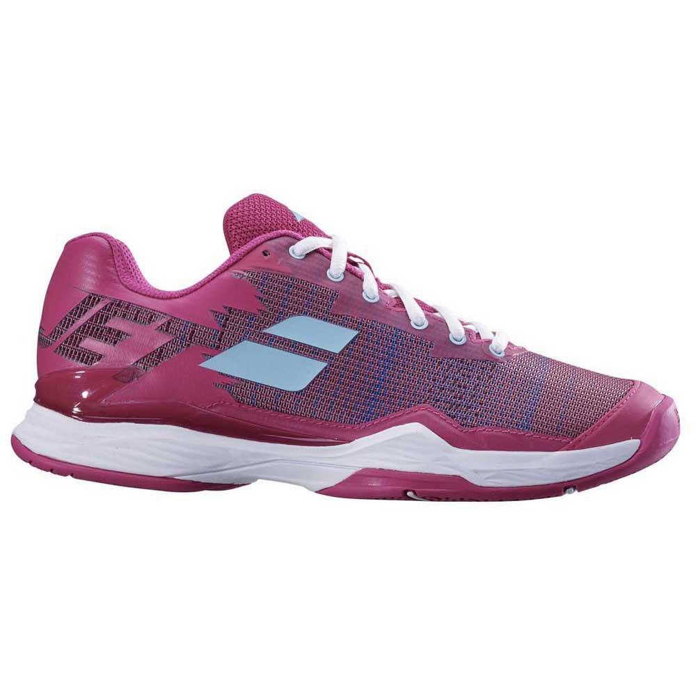 Babolat Chaussures Tous Les Courts Jet Mach I EU 38 1/2 Purple / Blue Pastel