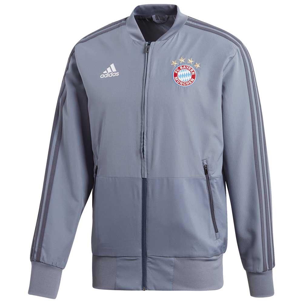 Adidas Fc Bayern Munich Ucl Presentation 18/19 M Raw Steel