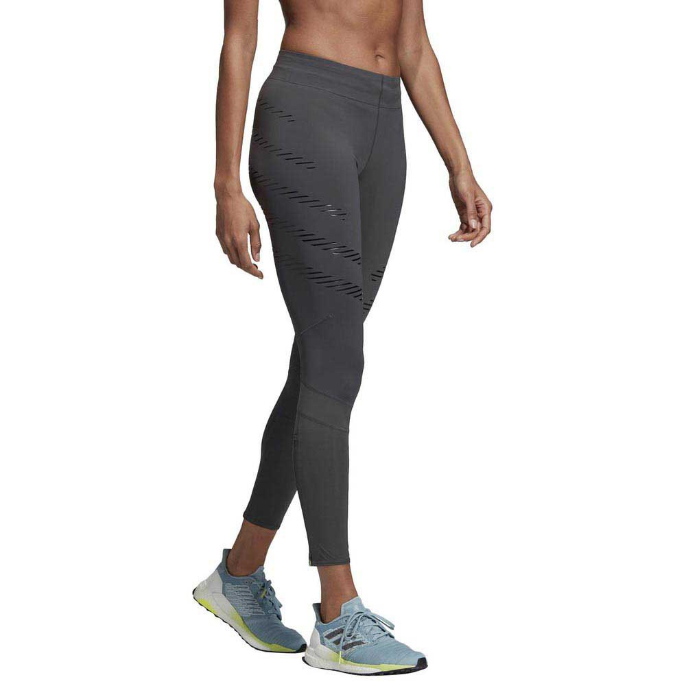 acheter populaire 86c62 56b0a Détails sur Adidas. How We Do Speed Gris , Collants adidas. , running ,  Vêtements femme