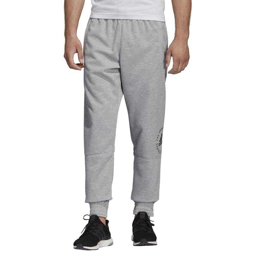 pantaloni uomo grigi adidas