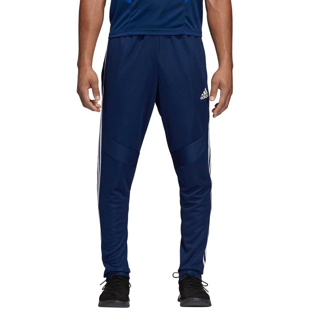 pantaloni uomo adidas blu